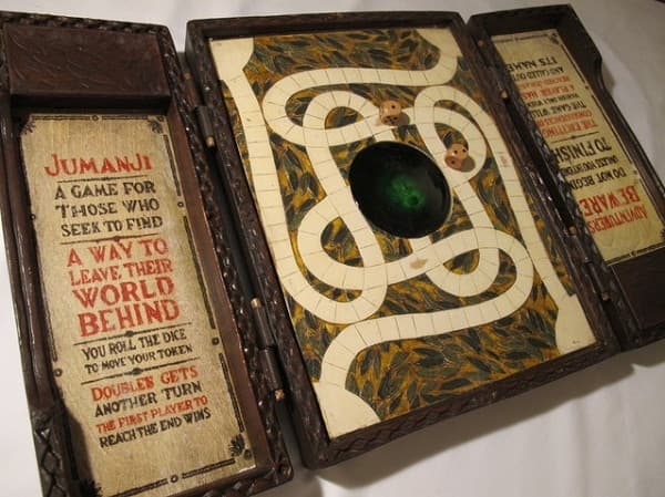 коробка с картой