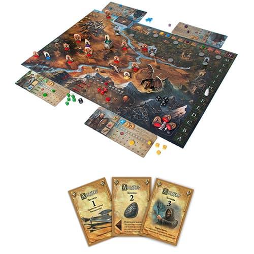 поле и карты для игры андор