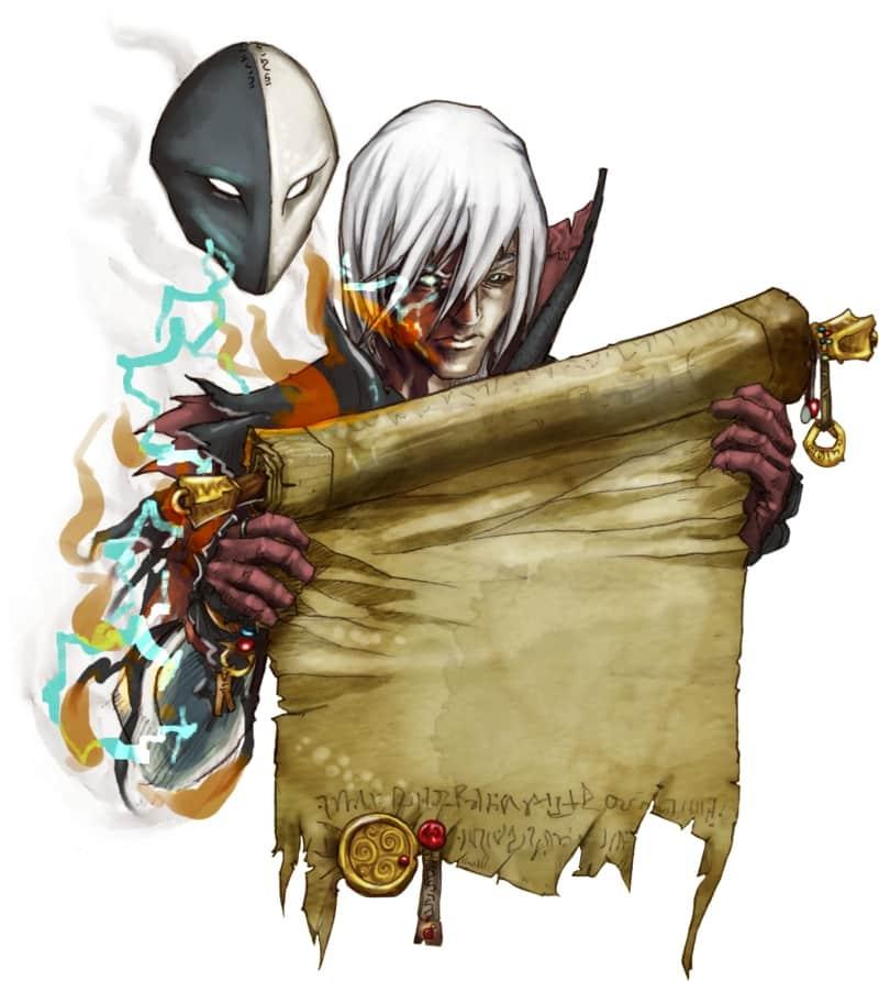 персонаж игры pathfinder.