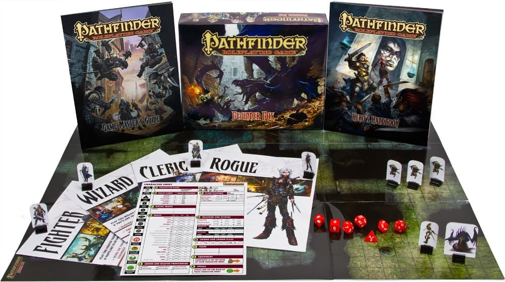 игровой комплект игры pathfinder