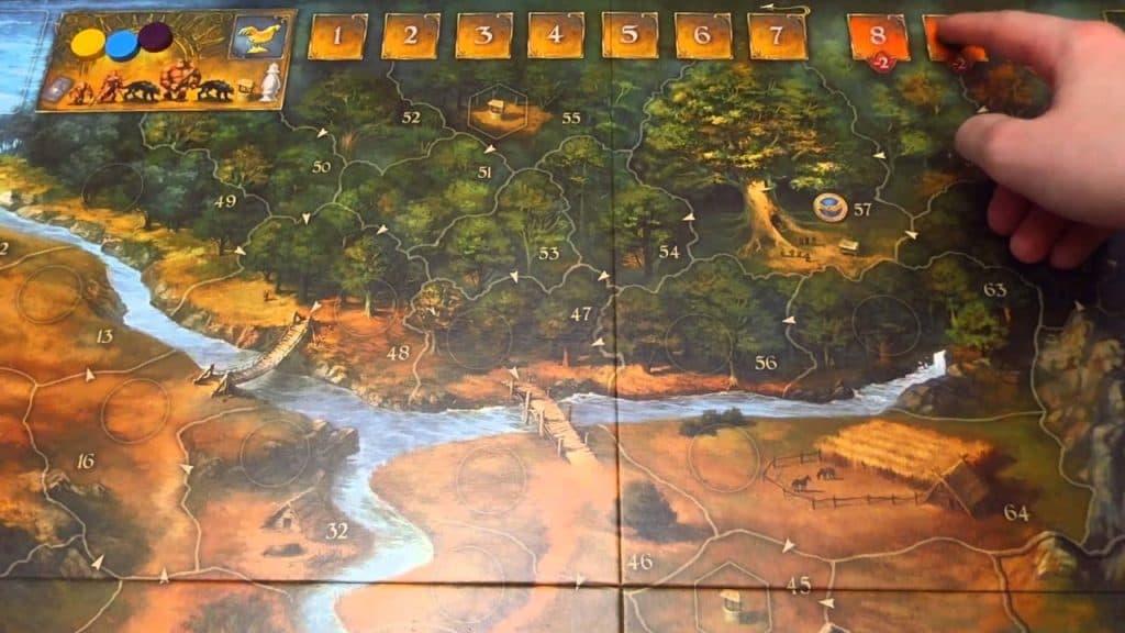 карта игры андор