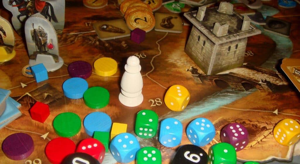 кубики и фишки игры андор