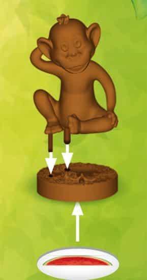 обезьянка-фишка