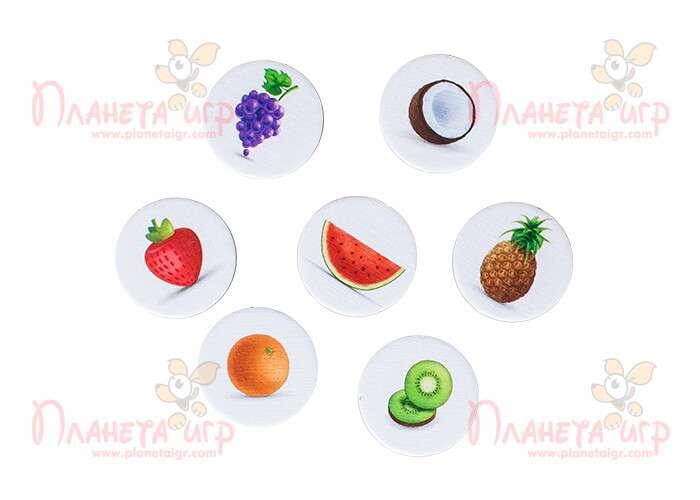 карточки с фруктами