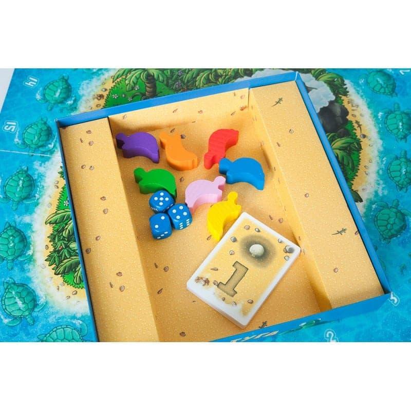 коробка с фишками игры тортуга