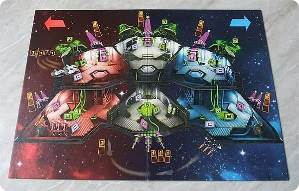 игровое поле космическая тревога