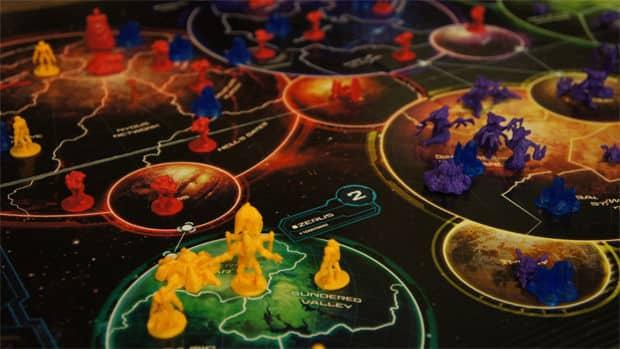 игровое поле игры про космос