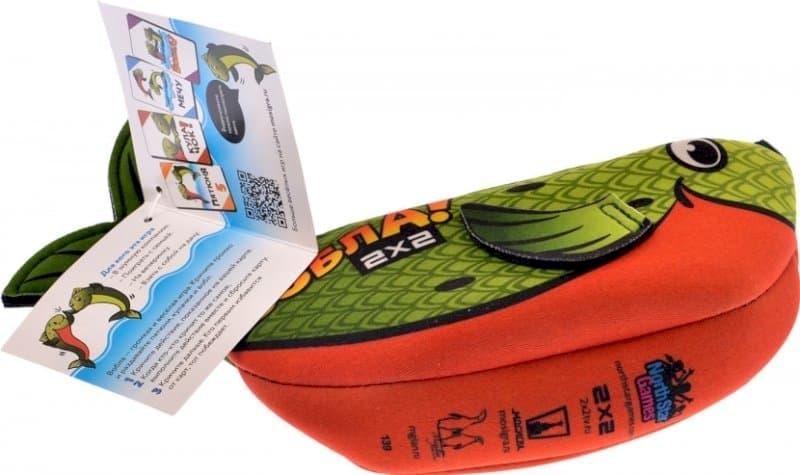 сумка-рыбка с картами
