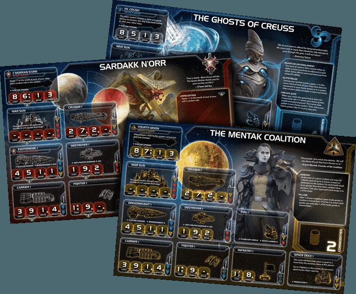 карточки героев