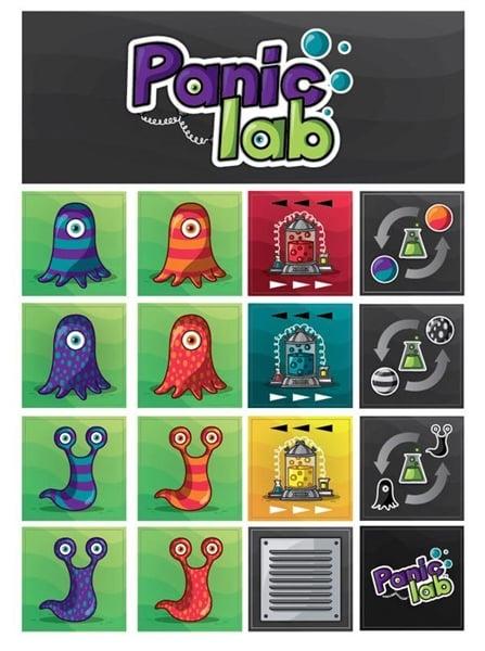 Настольная игра Паника в лаборатории/Panic Lab, 2012: обуздай амеб-мутантов!
