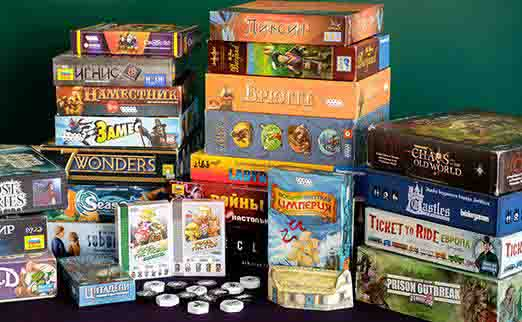 Настольные игры - лучшее из популярных развлечений