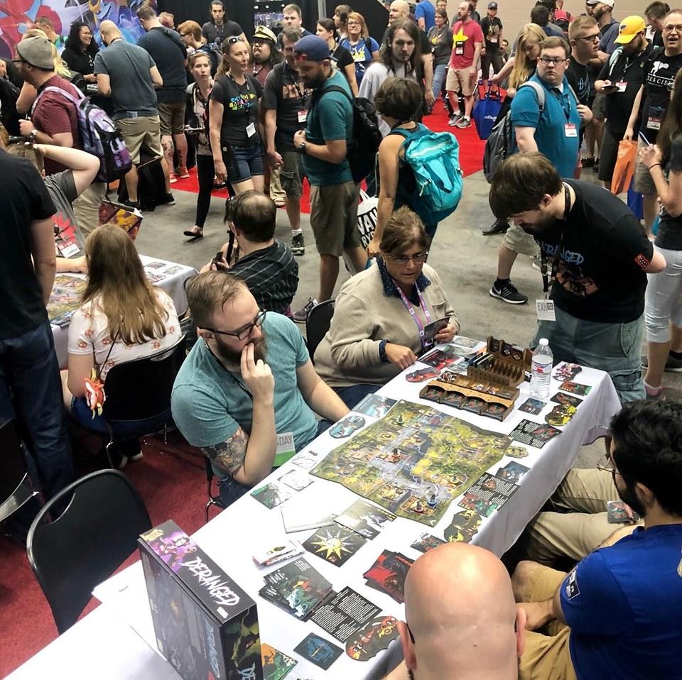 Настольная игра Одержимость/Deranged, 2019 : Одна из лучших игр на Gen Con 2019