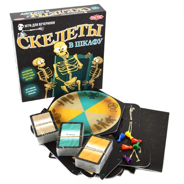 Настольная игра Скелеты в шкафу/Skeletons in the closet, 2011