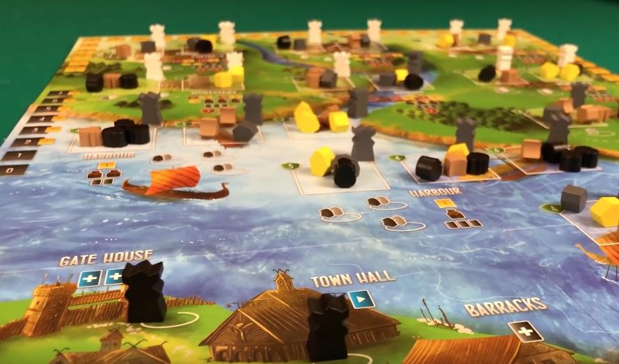 Игровое поле Викинги