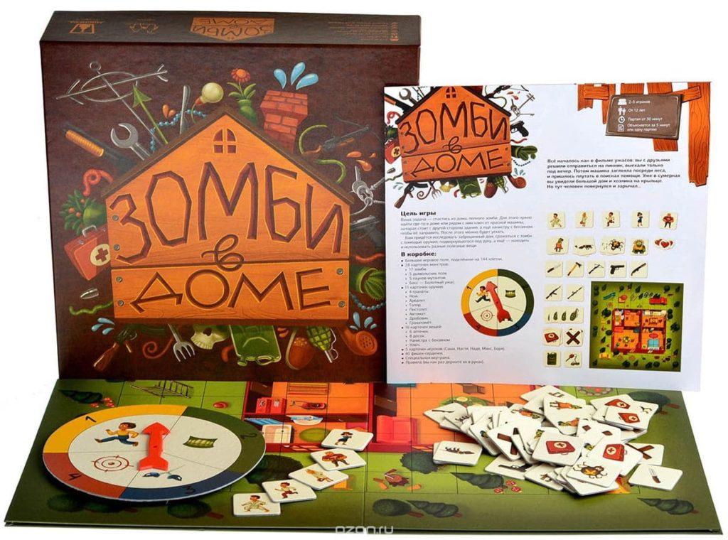 Игра Зомби в доме1