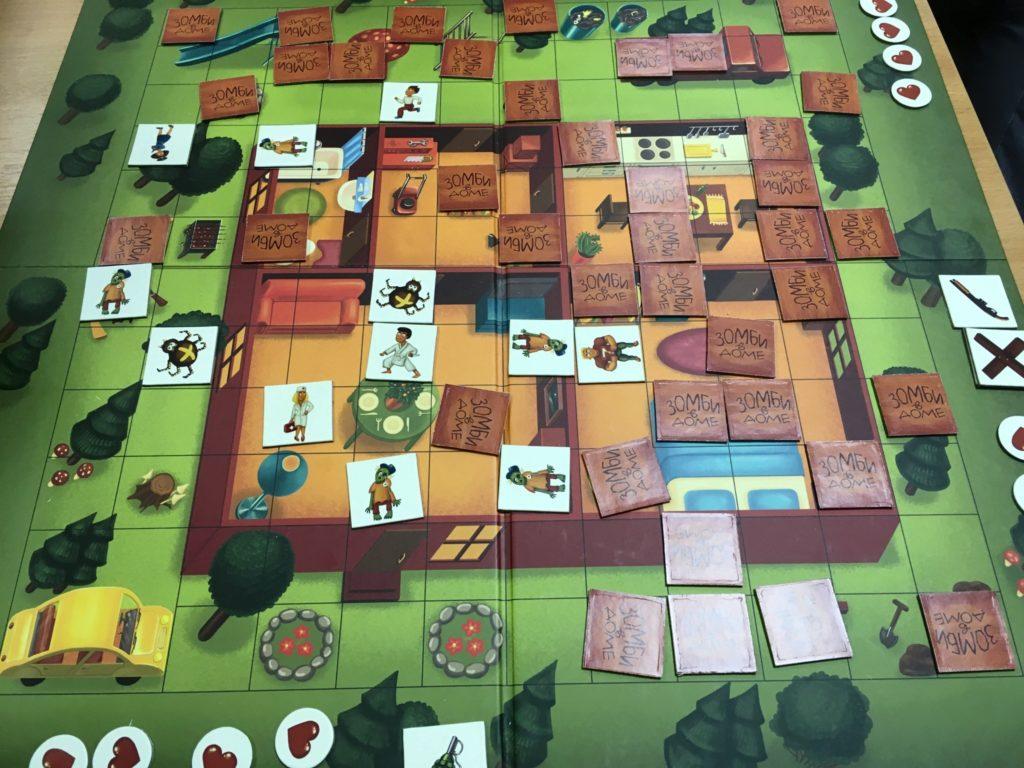 Игра Зомби в доме6