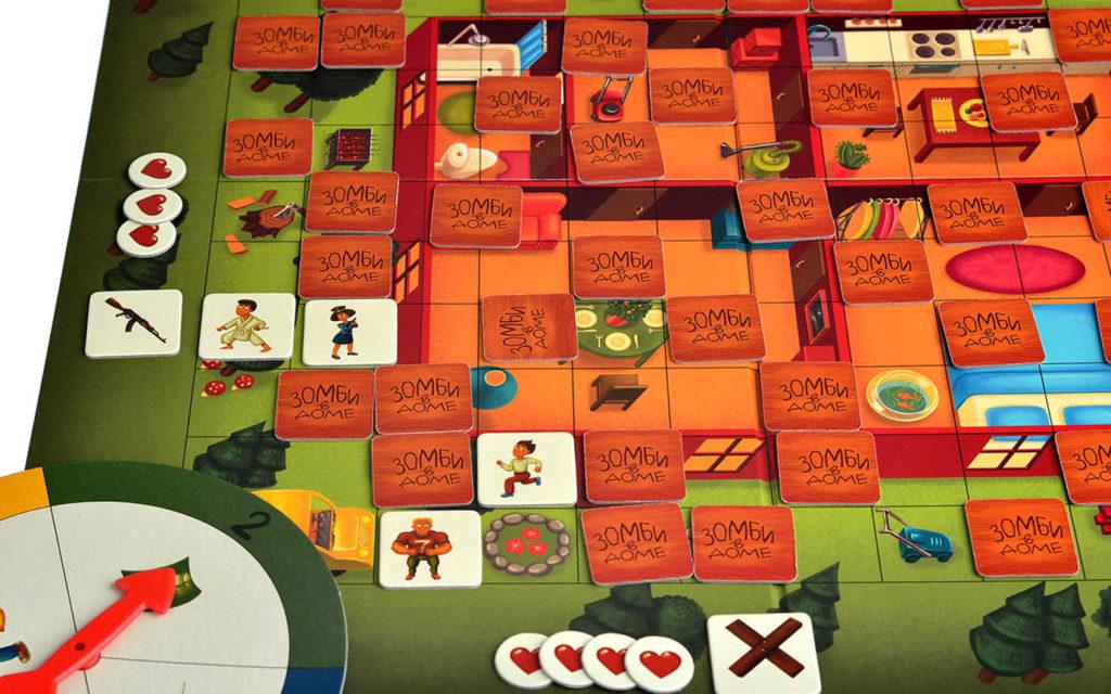 Игра Зомби в доме3